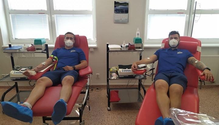 Házenkáři SKP pomohli dobré věci. Darovali krev v Krevním centru